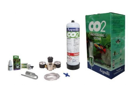 kit co2 aquili con bombola usa e getta
